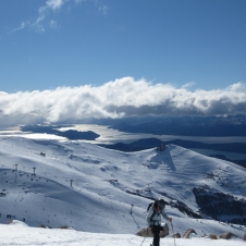 I daresay the views from the top of Cerro Catedral beat what you can find at Tahoe.
