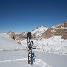 My Jones splitboard is sweet!