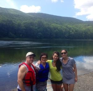 Family Canoe Pic!
