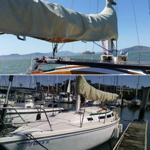 Just in time for me to leave to South America we finished the diesel repower for Joyous; but I will enjoy sailing her when I am back!