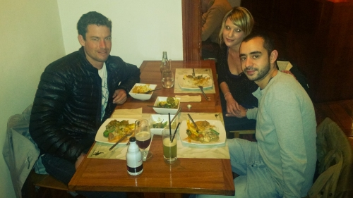 We had a nice Thai dinner at Samsara in Cerro Alegro.