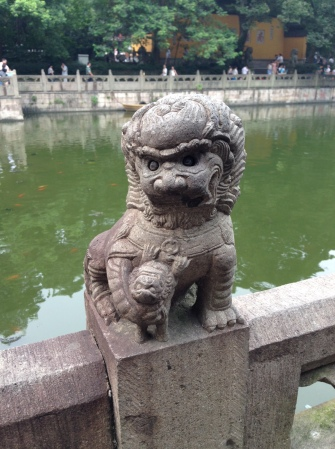 Stone Lion from Hangzhou