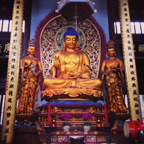 Medicine Buddha in Hangzhou