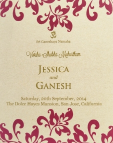 Ganeshica's gorgeous wedding!