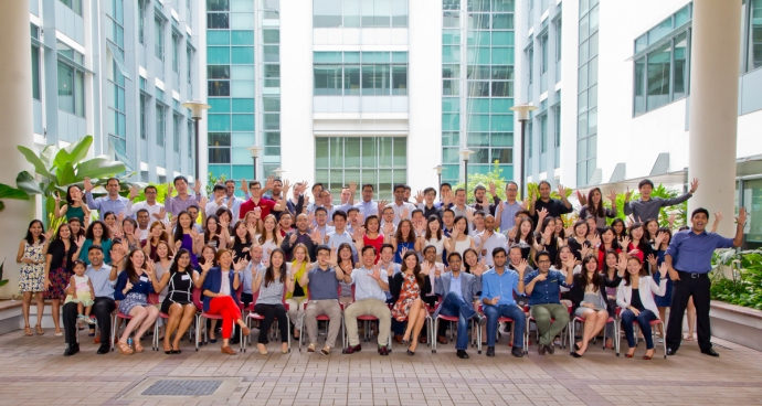 INSEAD 2015D Singapore Admit Day group shot!