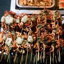 Fried crab on a stick, anyone?
