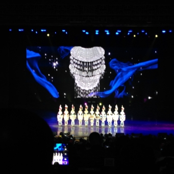 The performance ant Xiangxi Theatre.