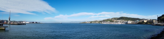 Wellington reminded me of SF, with a reminiscent downtown are just adjacent to a beautiful Bay.