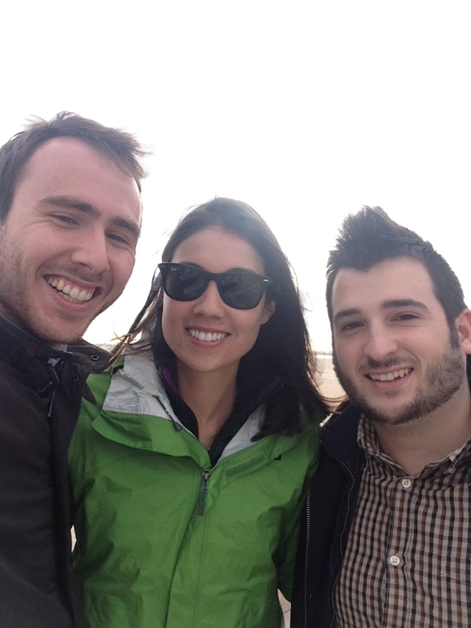 Best tour guides you'll find in Spain, Rafa and Jorge!