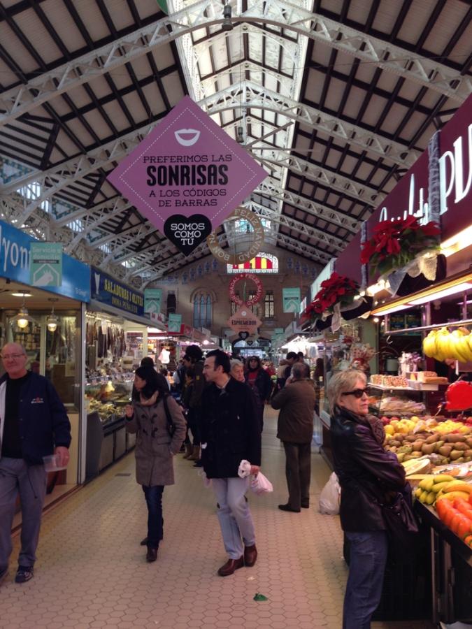 Fresh Valencia Market