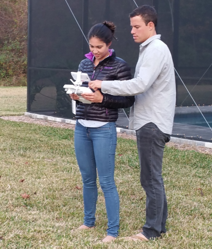 More drone training