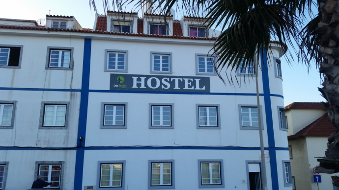 The aptly named Lone Surfer hostel where I stayed while in Portugal