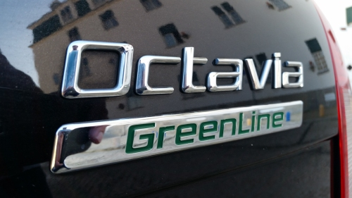 The Skoda Octavia GreenLine edition... my station wagon for the trip that gets 50 mpg!