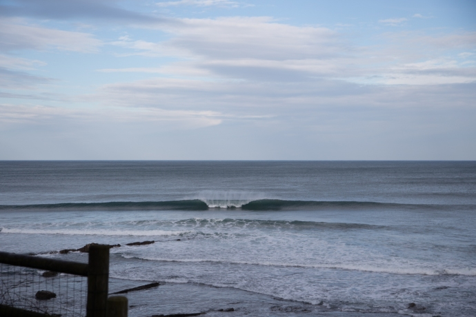 Ogella is a very nice A-frame wave, reminiscent of Trestles although perhaps with more of an edge to it