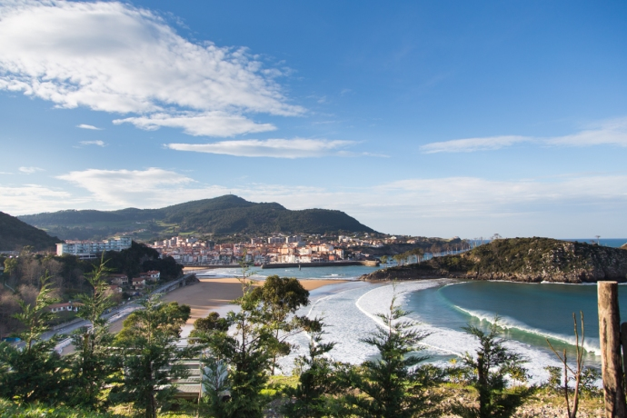 The picturesque town of Leiketio