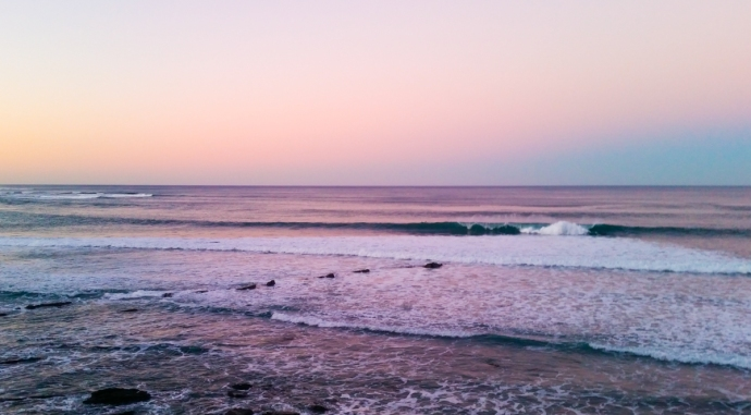 Sunset at Ogella