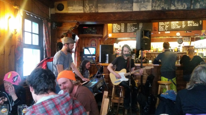 Apres Ski often went down in Argentiere and often there was live music playing