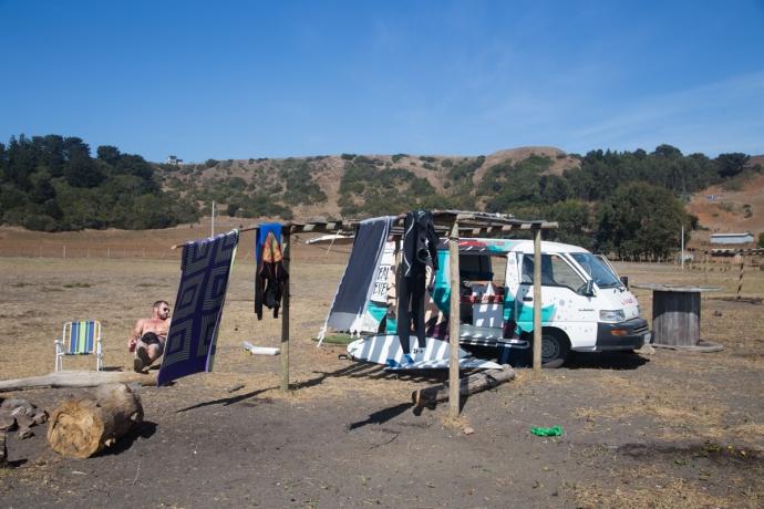 Van camping!