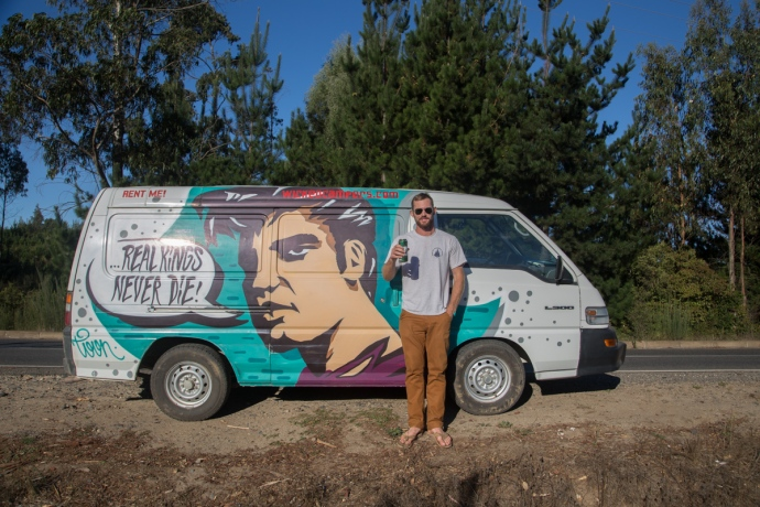Elvis, the Wicked Campervan