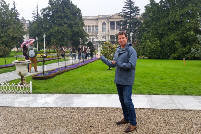 Walla, Dolmabahçe Palace