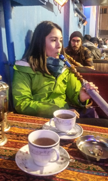 Not exactly stoked on hookah, but you gotta try it when in Istanbul