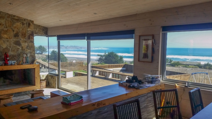 The house had a rather nice view of Punta Lobos, don't you think?