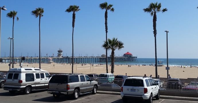 I had a fun session at good ol' Huntington Beach Pier one afternoon while visiting Mom & Dennis